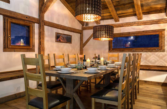 Resort carousel chalet mont blanc new dining