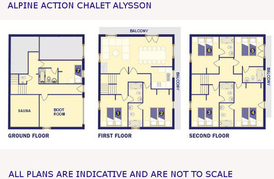 Resort carousel alysson floor plan