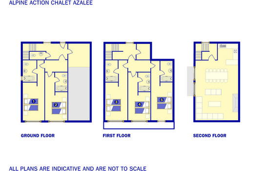 Resort carousel azalee floor plan