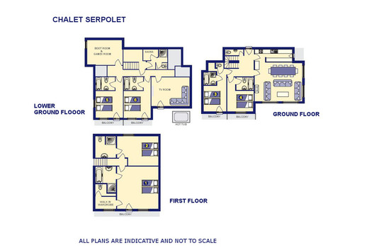 Resort carousel serpolet floor plan