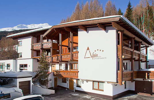 Resort carousel apartment alpin exterior