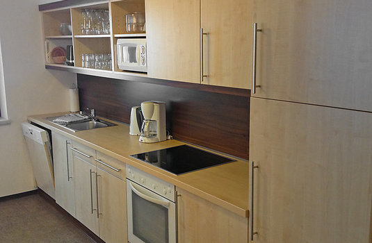 Resort carousel apartment alpin kitchen
