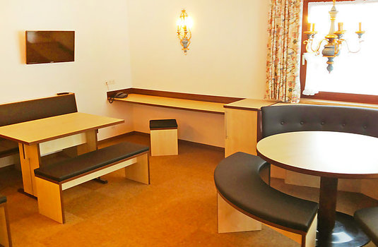 Resort carousel apartment alpin lounge