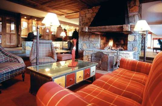 Resort carousel residence aspen fire place