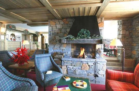 Resort carousel residence aspen fire place 2