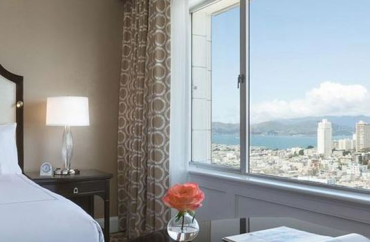 Resort carousel fairmont hotel sf double bedroom2