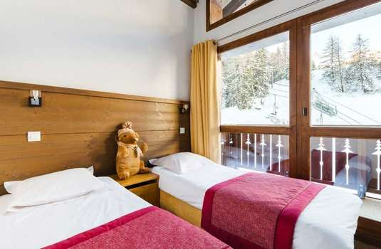 Resort carousel les chalets edelweiss updated twin bedroom