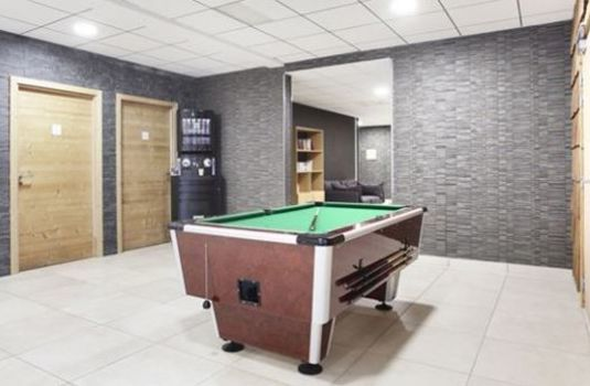 Resort carousel hotel le chamois games room rs