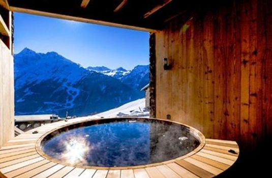 Resort carousel chalet valeriane hot tub update rs