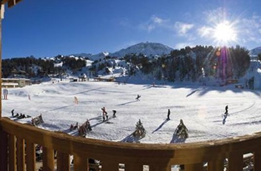 Resort carousel chalet lucerne panoramic slope rs
