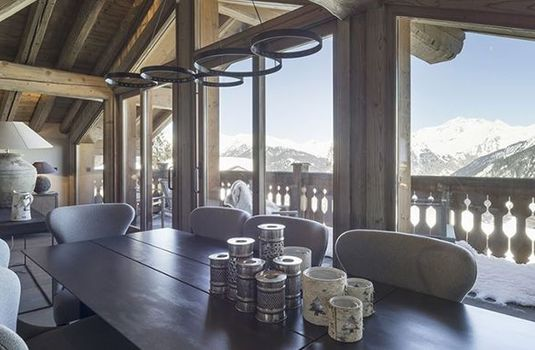 Resort carousel chalet la colombe dining panoramars