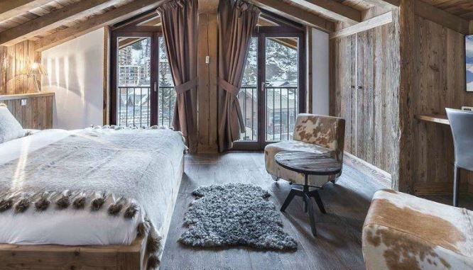 Luxury ski apartments