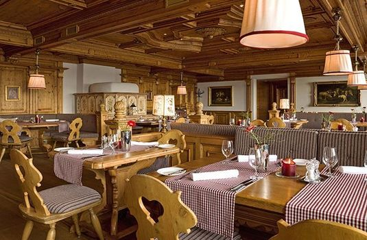 Resort carousel interalpen hotel tyrol dining arears