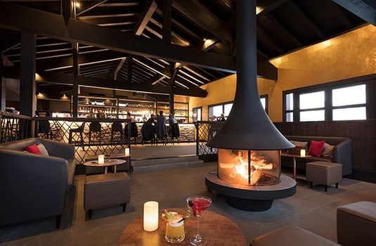 Resort carousel hyatt centric la rosiere h40 fireplacers