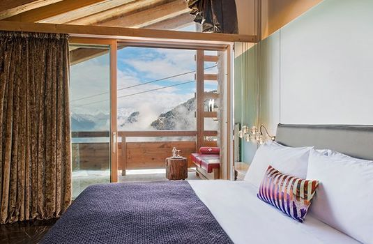 Resort carousel w verbier bedroom view