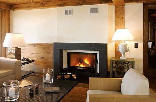 Resort carousel le crans fireplacers