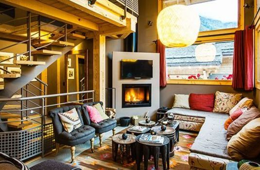 Resort carousel chalet rives d argentiere hamlet stairsrs