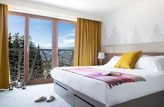Resort carousel les arcs panorama bedroom viewrs