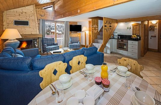 Resort carousel chalet apartment chamois kitchenrs