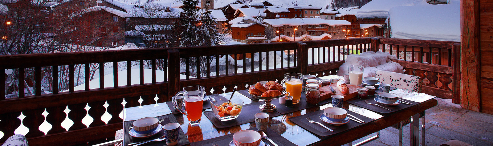 Courchevel accommodations