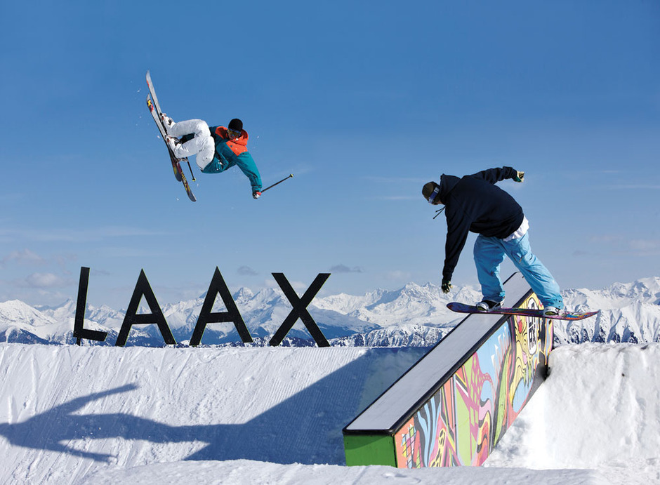 Experience the Park in Laax
