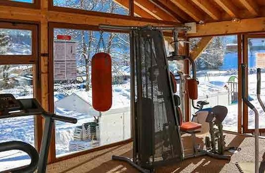 Resort carousel hotel le cret gym
