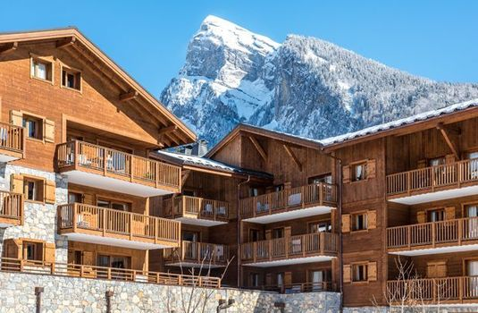 Resort carousel chalets de layssia exterior mountain