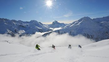 St Anton ski holiday info