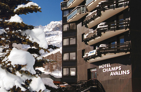 Champs Avalins exterior, Val d'Isere