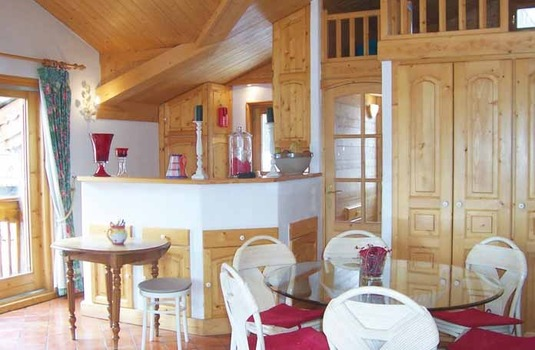 Chalet Orciere Dining