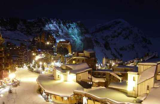 Avoriaz at Night